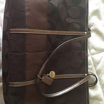 Coach Brown Tote Handbag Photo