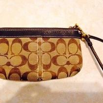 Coach Brown Wristlet Photo