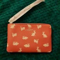 Coach Bunny Wristlet Wallet Photo