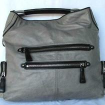 Coach Cambridge Limited Edition  Xlg Satchel Tote Grey Leather Bag 14094 Travel Photo