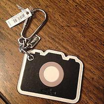 Coach Camera Keyring Fob Bag Charm Nwt F54913 Photo