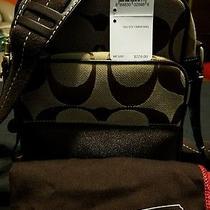 Coach Camera Multipurpose Crossbody Bag Signature Pre-Loved Photo
