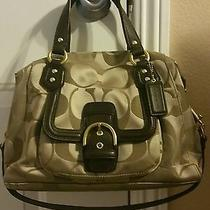 Coach Campbell F24741 - Brass/khaki/mahogany  Photo