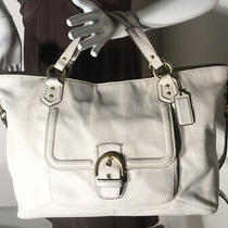 Coach Campbell Izzy Ivory Large Satchel F24683 Photo