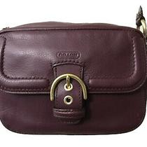 Coach Campbell Leather Camera Bag Crossbody Purse Euc G1376-F25150 Photo