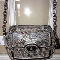 Coach Campbell Leather Camera Bag - Nwt- Python Photo