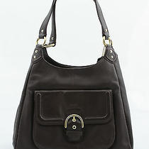 Coach Campbell Leather Hobo Bag in Mahogany Photo