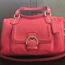 Coach Campbell Leather Satchel Photo