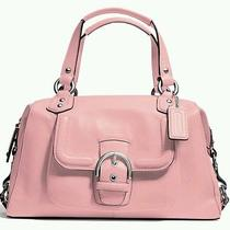 Coach Campbell Leather Satchel Handbag Nwt 378 Photo