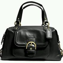 Coach Campbell Leather Satchel Nwt (Original 378.00) Photo