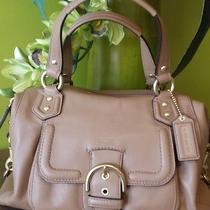 Coach Campbell Leather Satchell Nwt Guaranteed Authentic Photo