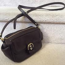 Coach Campbell Leather Small Camera/camcorder Shoulder Bag - Brown Photo
