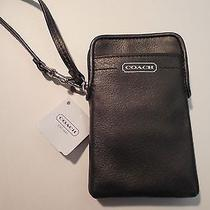 Coach Campbell Leather Universal Case Bag Wristlet Nwt  66787 Iphone Photo