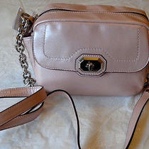 Coach Campbell Pearl Blush  Leather Camera Bag F24843 Nwt Photo