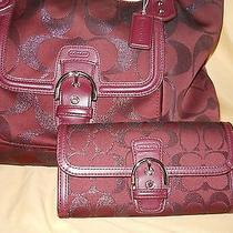 Coach Campbell Satchel With Wallet  Photo