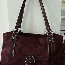 Coach Campbell Signature Metallic Tote Bag  Shoulder Bag  F26246 Photo