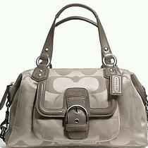 Coach Campbell Signature Satchel 328  Nwt  Photo
