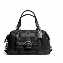 Coach Campbell Signature Satchel  328 Retail Photo