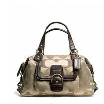Coach Campbell Signature Satchel New 328 Photo
