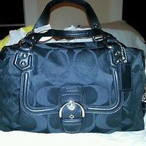 Coach Campbell Signature Satchel Nwt Photo