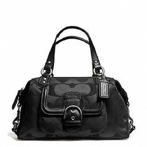 Coach Campbell Signature Satchel Nwt Mfsrp 328 Photo