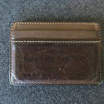 Coach Card Wallet Mens Photo