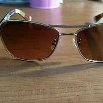 Coach Caroline Hc 7012 Gold Tortoise Pilot  Sunglasses Photo