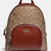 Coach Carrie Backpack 23 in Signature Canvas Photo