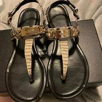 Coach Caterine Snake Sandals 10 Photo