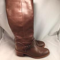 Coach Cecelia Riding Boot - A7898 - Brown Leather - Women's Size 8b - Excellent Photo