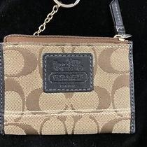 Coach Change Purse With Key Ring & Credit Card Slot Photo