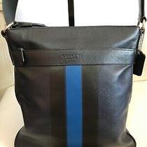 Coach Charles Crossbody Varsity Leather Messenger Tote Bag - F54193 Photo