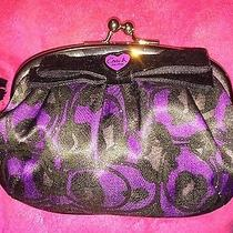 Coach Cheetah Print Coin Purse  Photo