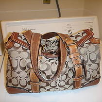 Coach Chelsea Signature Satchel-10986-New Photo