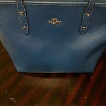 Coach City Zip Tote Leather Photo