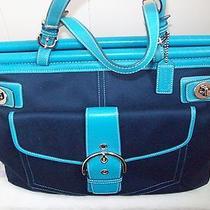 Coach Classic Hamptons Bag Weekender Tote Photo