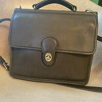 Coach Classic Willis  Crossbody Messenger Bag -Olive Green Vintage -Rare Photo