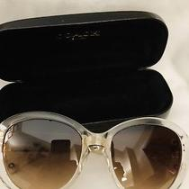 Coach Clear C Logo Sunglasses New Photo