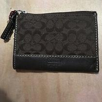 Coach Coin Change Purse Id Holder Key Ring Photo