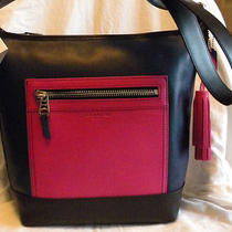 Coach Colorblock Leather Duffle  F19995  Nwt  Photo