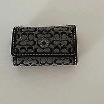 Coach Contact Lense Case Signature C Pattern in Back Nwt Photo