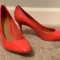 Coach Coral Peach Pump Size 8 - Comes With Box - Used Photo