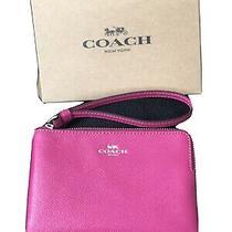 Coach Corner Zip Wristlet Photo