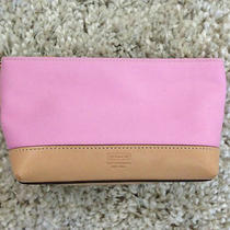 Coach Cosmetic Makeup Bag Case Orig. 78.00 Pink Lovely Photo