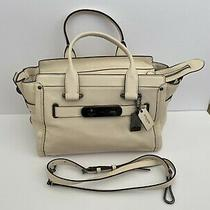 Coach Cream-Colored Large Tote - Excellent Condition Photo