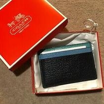 Coach Credit Card Holder Wallet Photo