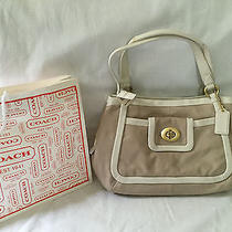 Coach Cricket Leather Satchel 13602 Photo