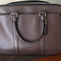 Coach Cross Body Laptop Bag Photo