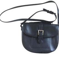 Coach Cross-Body Leather Bag - Black Small Photo