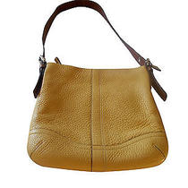 Coach Crossbody Purse  Item  J0782/f10941 in Light Yellow/butternut Color Photo